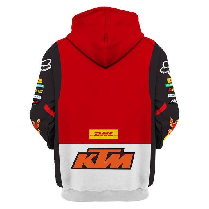 monster energy fox racing ktm pod full printing hoodie