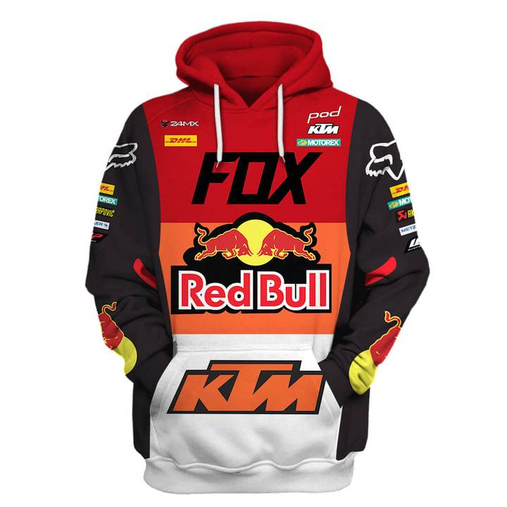 monster energy fox racing ktm pod full printing shirt 2