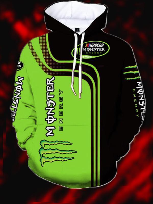 monster energy nascar full printing hoodie 2