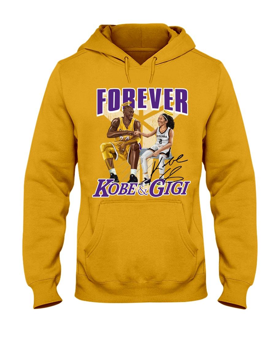 nba forever kobe and gigi hoodie