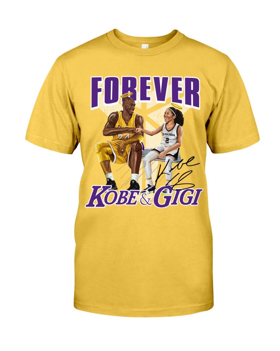 nba forever kobe and gigi tshirt