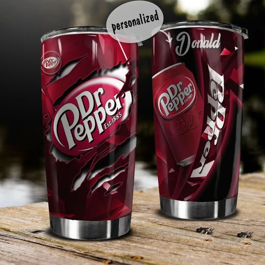 personalized name dr pepper tumbler 1 - Copy