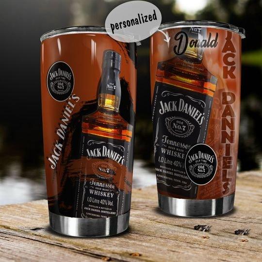personalized name jack daniels whiskey tumbler 1 - Copy