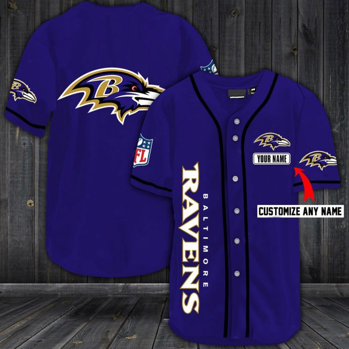 personalized name jersey baltimore ravens shirt - the limited edition