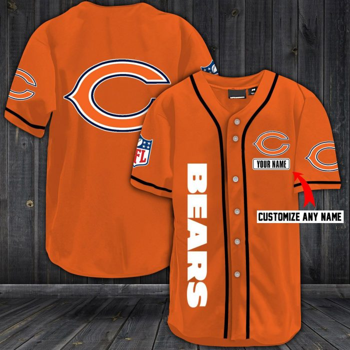 personalized name jersey chicago bears shirt 1