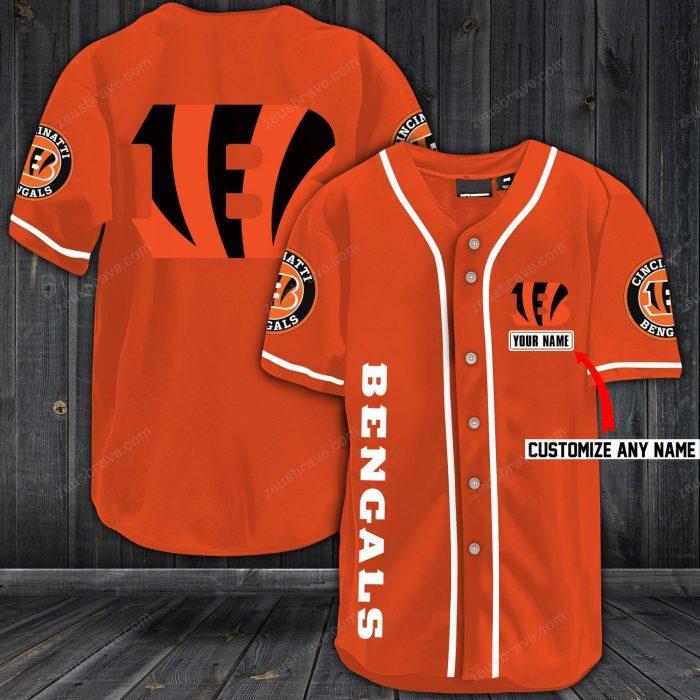 personalized name jersey cincinnati bengals shirt 1 - Copy (2)