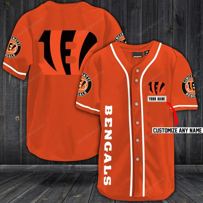 personalized name jersey cincinnati bengals shirt 1