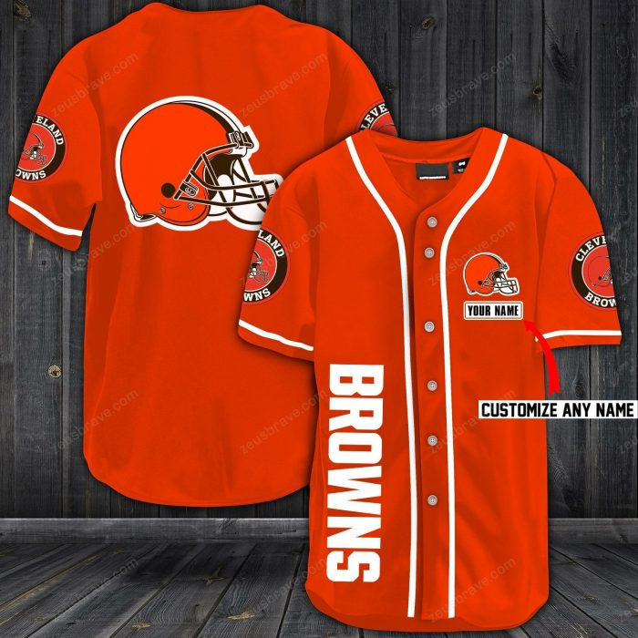 personalized name jersey cleveland browns shirt 1