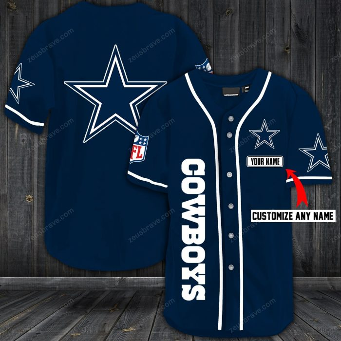 personalized name jersey dallas cowboys shirt 1