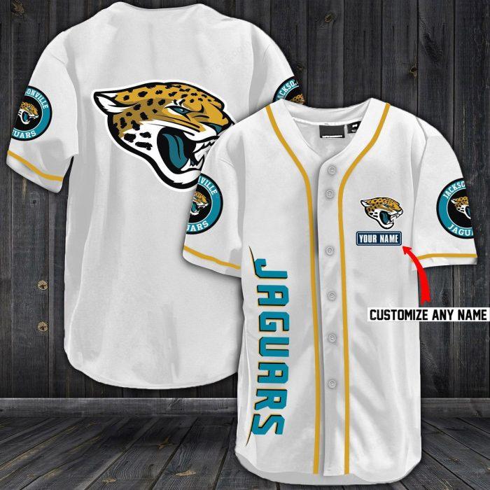 personalized name jersey jacksonville jaguars full printing shirt 1