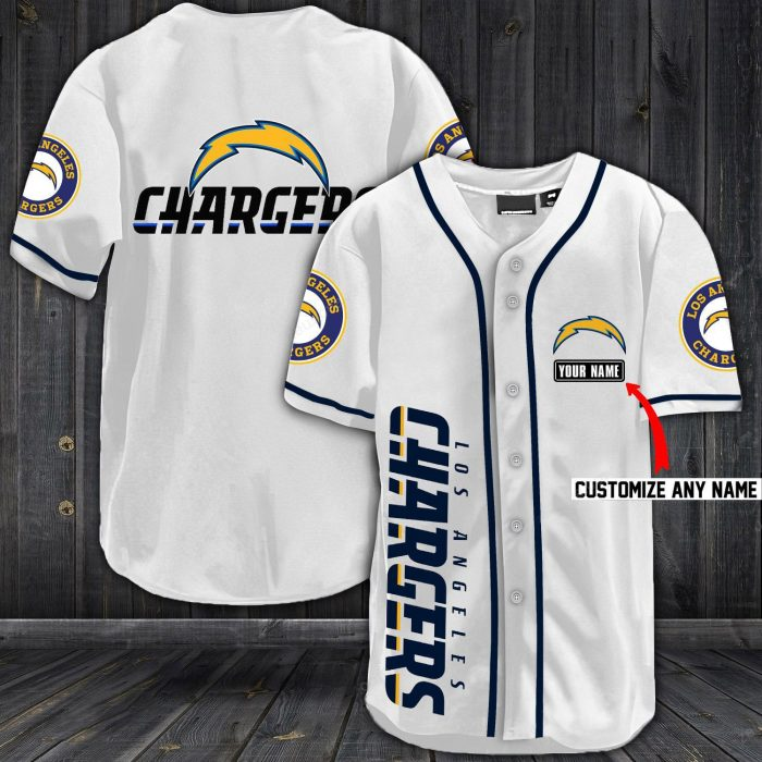 personalized name jersey los angeles chargers full printing shirt 1
