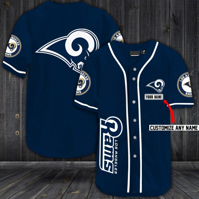 personalized name jersey los angeles rams shirt 1 - Copy