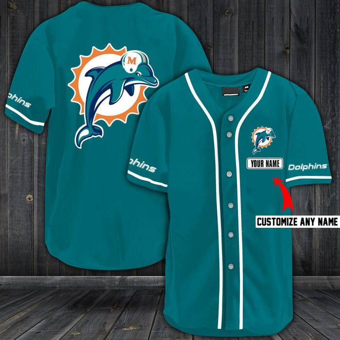 personalized name jersey miami dolphins shirt 1