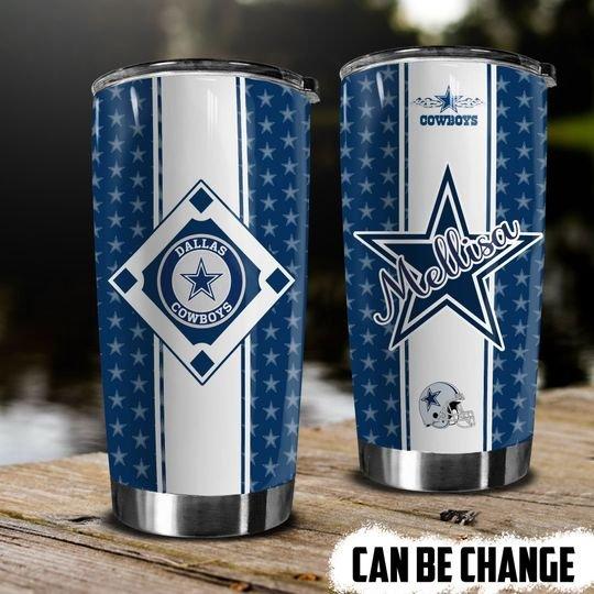 personalized name nfl dallas cowboys team tumbler 1 - Copy