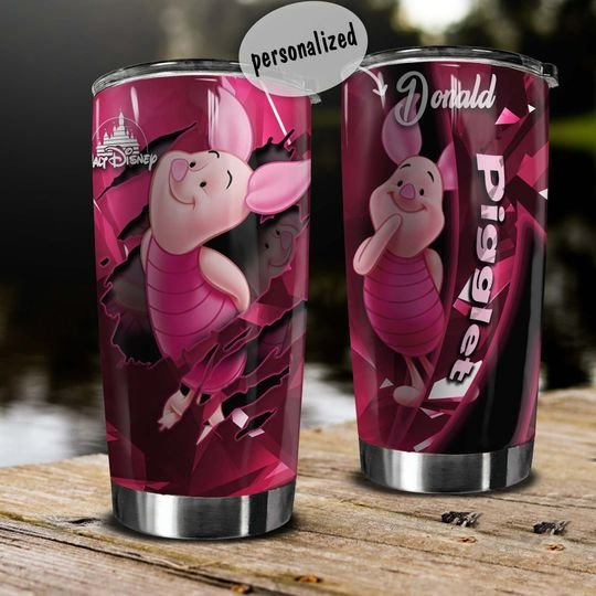 personalized name piglet winnie?the?pooh tumbler 1 - Copy (3)