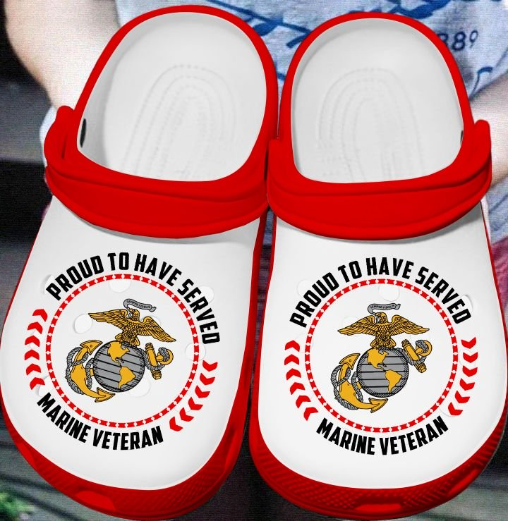 proud to have served marine veteran crocs 1