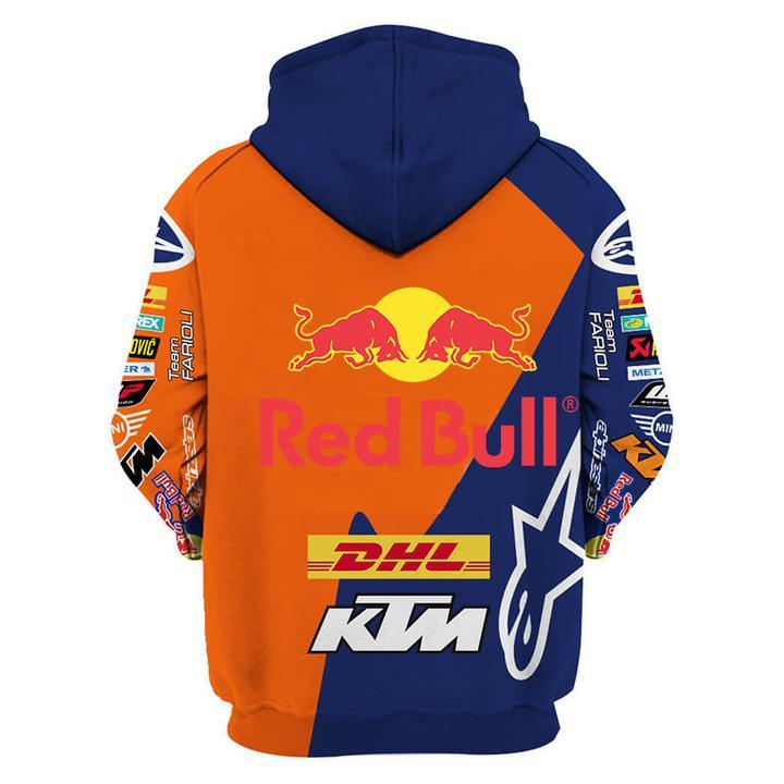 red bull and ktm factory racing full printing hoodie 1