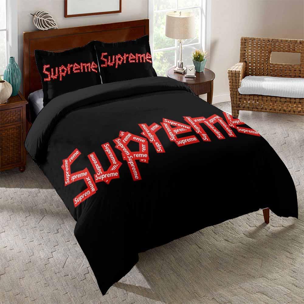 supreme brand bedding set 4