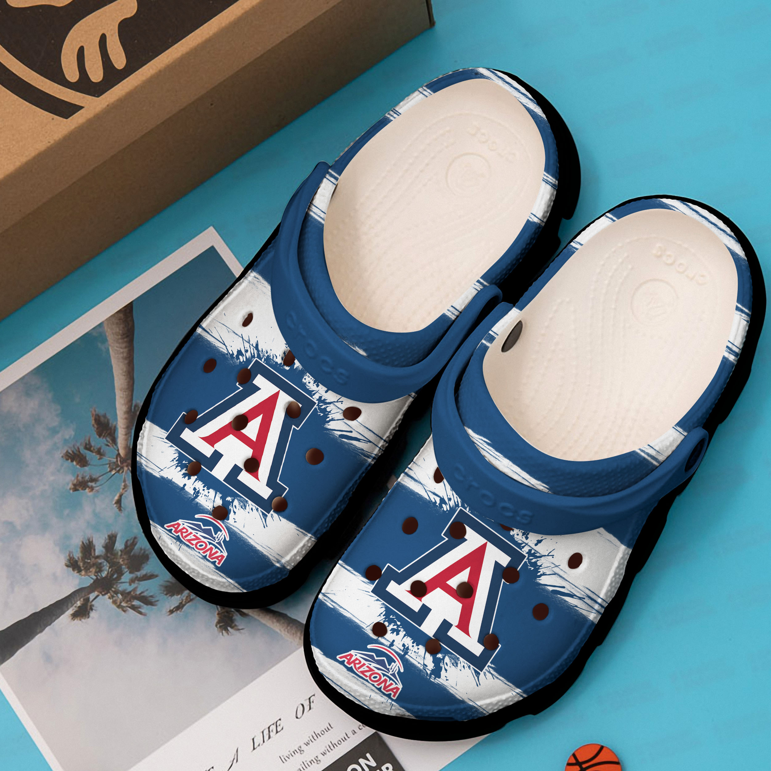 the arizona wildcats football crocs 1