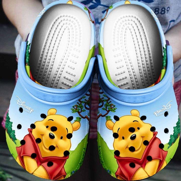the pooh cartoon crocs 1
