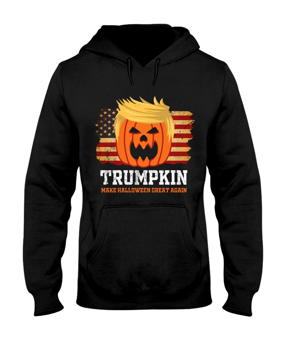 trumpkin make halloween great again hoodie