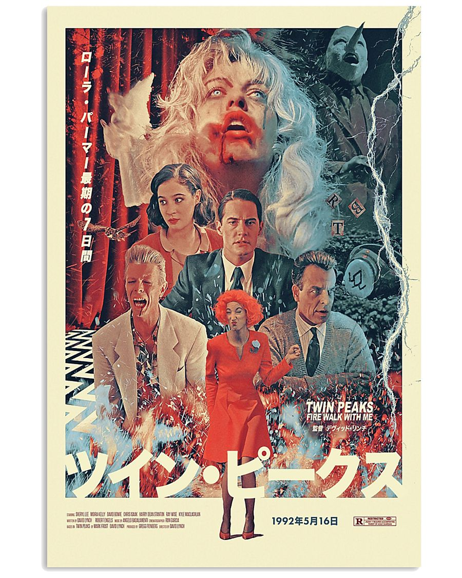tv show twin peaks poster 4