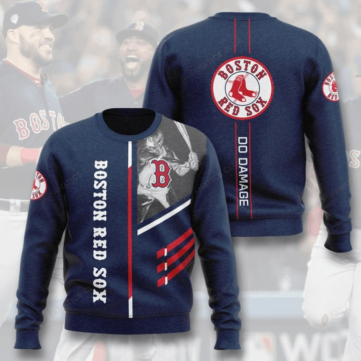 boston red sox do damage full printing ugly sweater 5