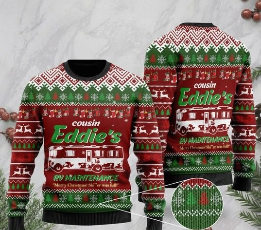 christmas vacation cousin eddies rv maintenance merry christmas ugly sweater 2 - Copy (2)