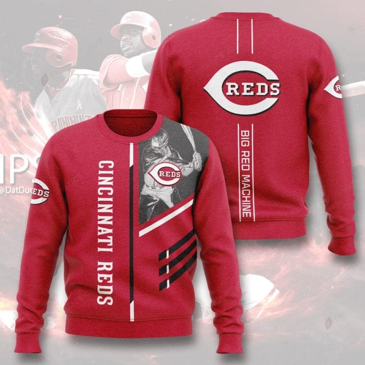 cincinnati reds big red machine full printing ugly sweater 2