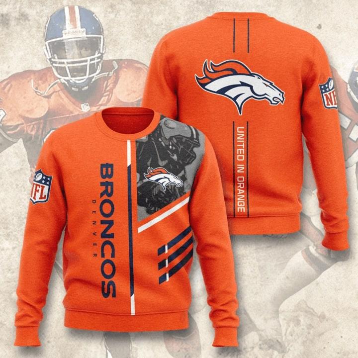 denver broncos united in orange full printing ugly sweater 2