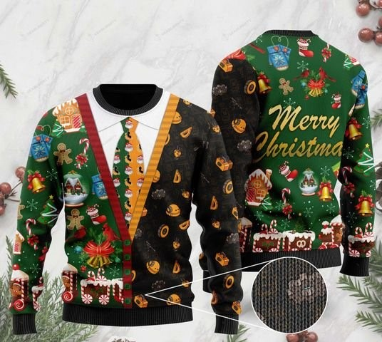 engineer merry christmas full printing ugly sweater 2