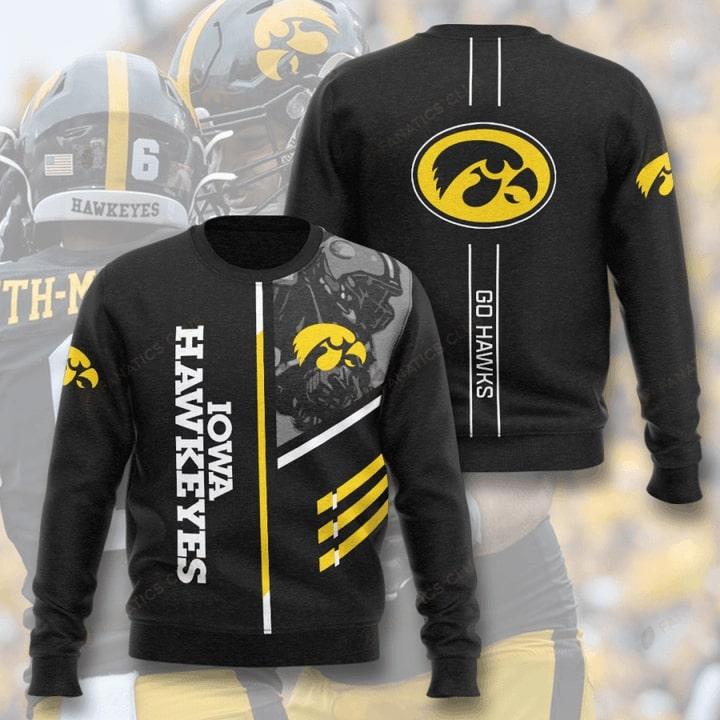 iowa hawkeyes football go hawks full printing ugly sweater 5