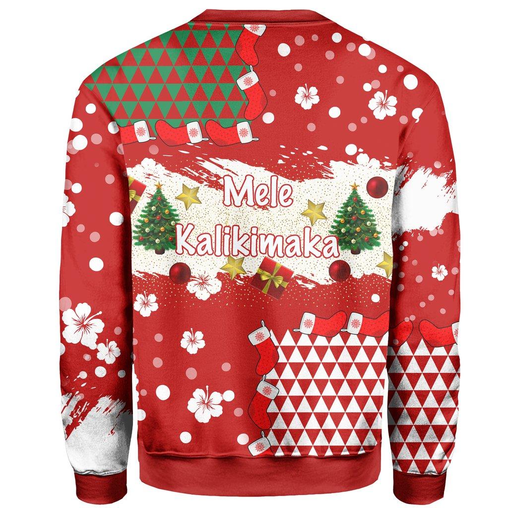mele kalikimaka hawaiian full printing ugly sweater 4