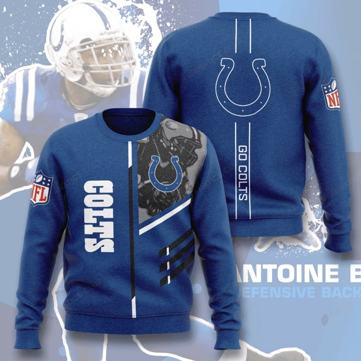 national football league indianapolis colts go colts full printing ugly sweater 5