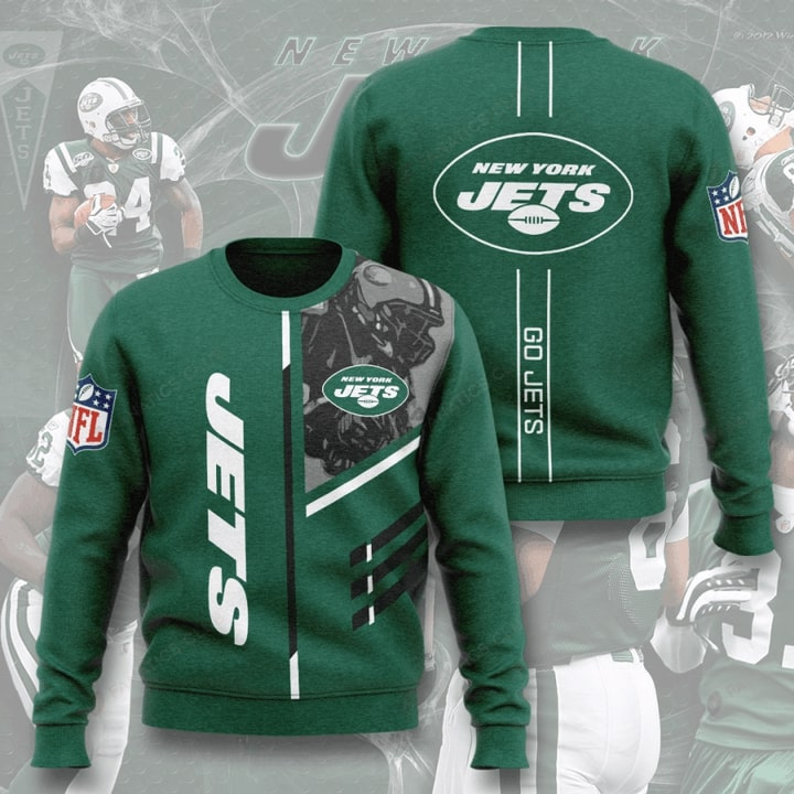 national football league new york jets go jets full printing ugly sweater 4