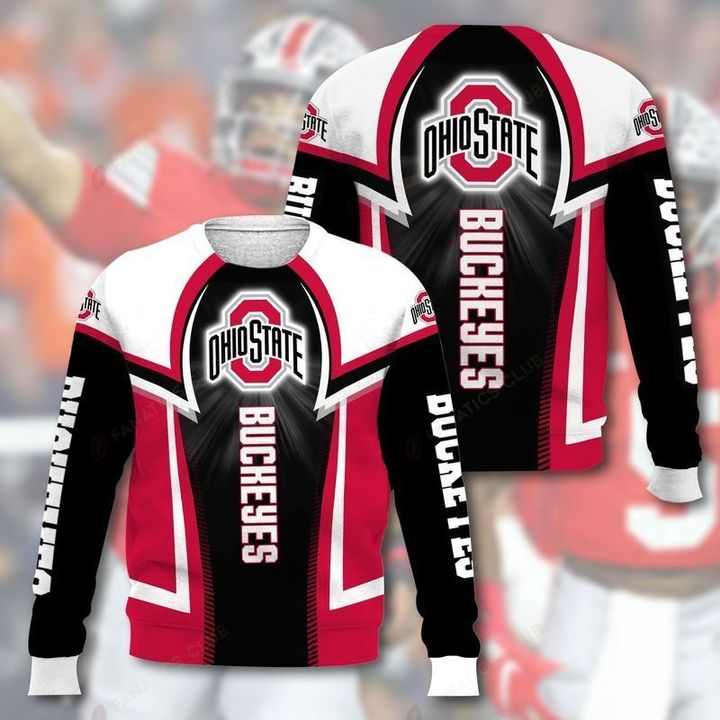 national football league ohio state buckeyes full printing ugly sweater 2
