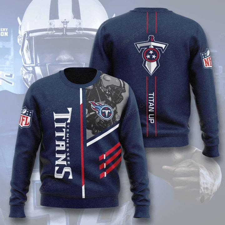 national football league tennessee titans titan up full printing ugly sweater 2
