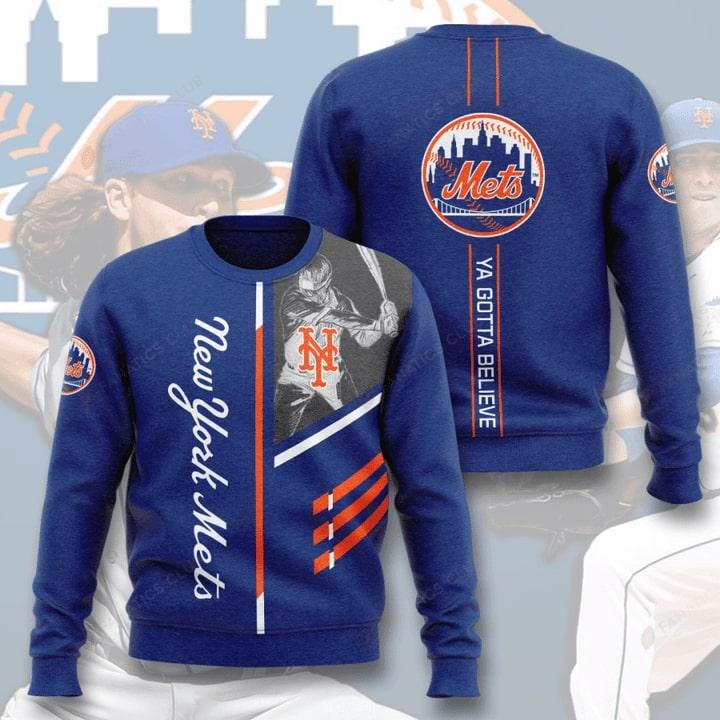 new york mets ya gotta believe full printing ugly sweater 4