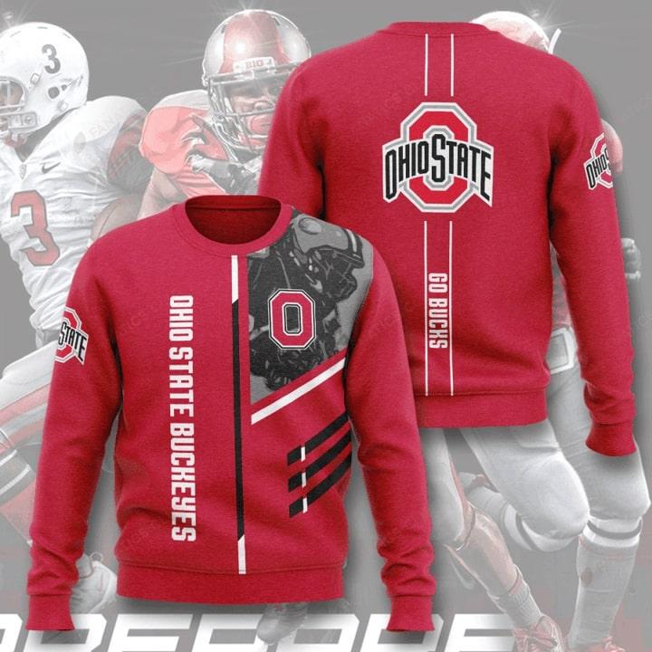 ohio state buckeyes football go bucks full printing ugly sweater 2