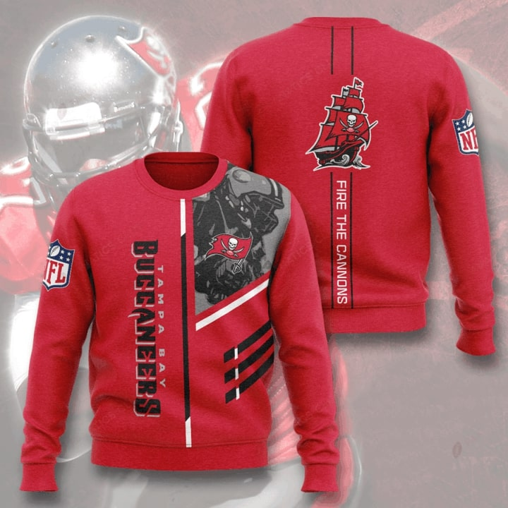 tampa bay buccaneers fire the cannons full printing ugly sweater 4
