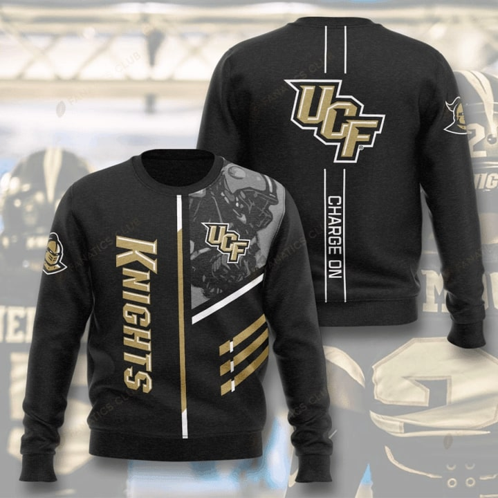 ucf knights football charge on full printing ugly sweater 2