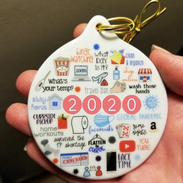 2020 annual events christmas ornament 2