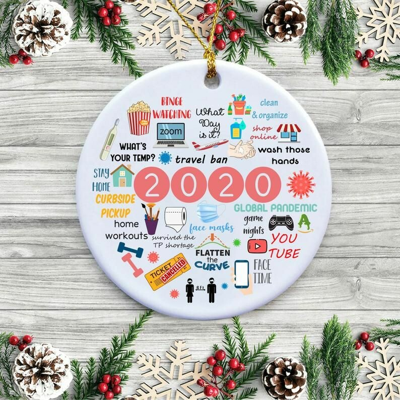 2020 annual events christmas ornament 3