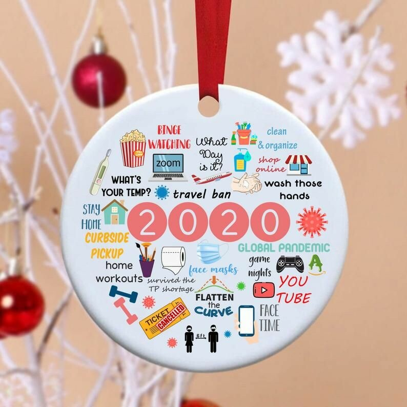 2020 annual events christmas ornament 4