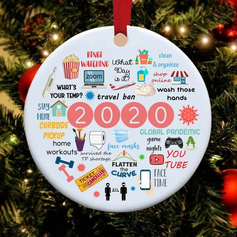 2020 annual events christmas ornament 5