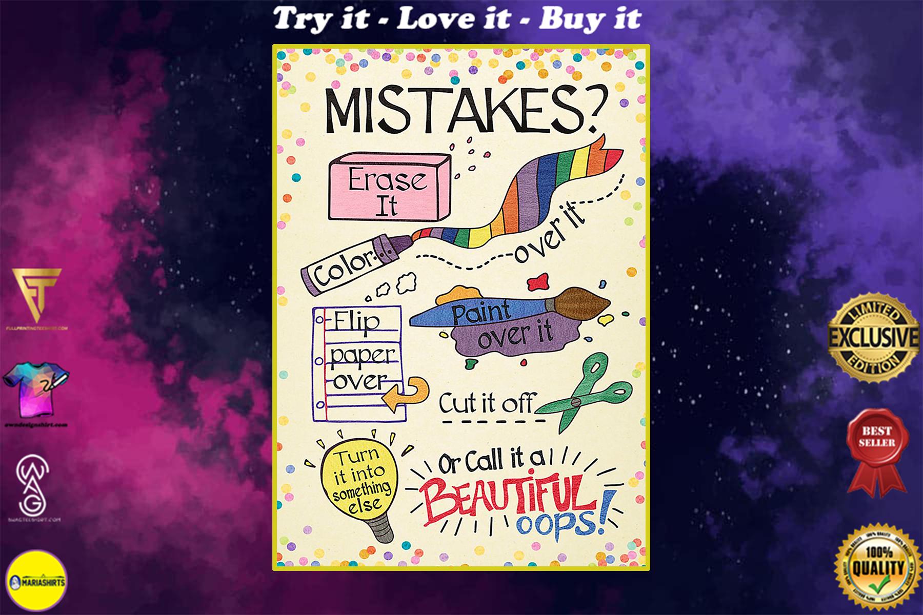 back to school art classroom poster
