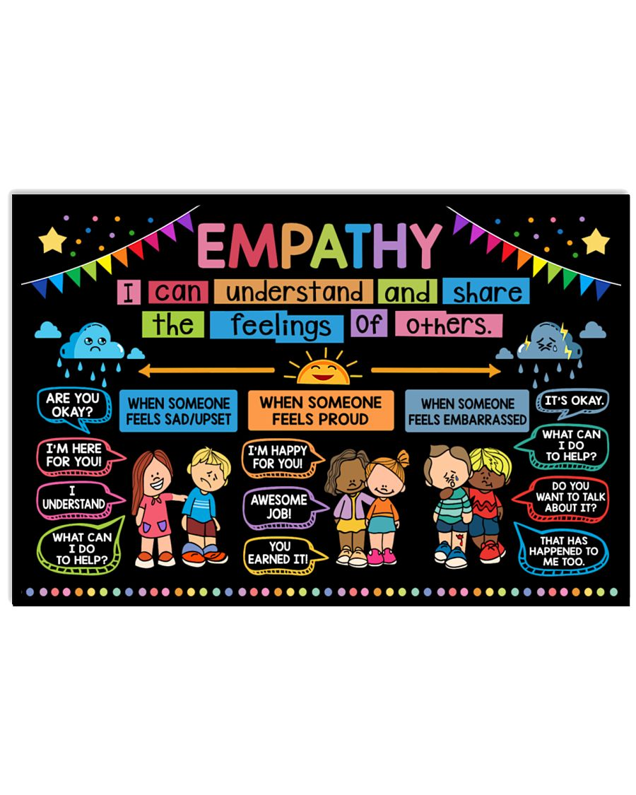 back to school empathy classroom poster 1