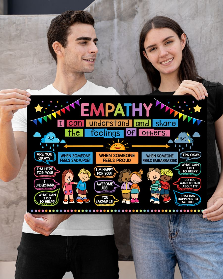 back to school empathy classroom poster 2