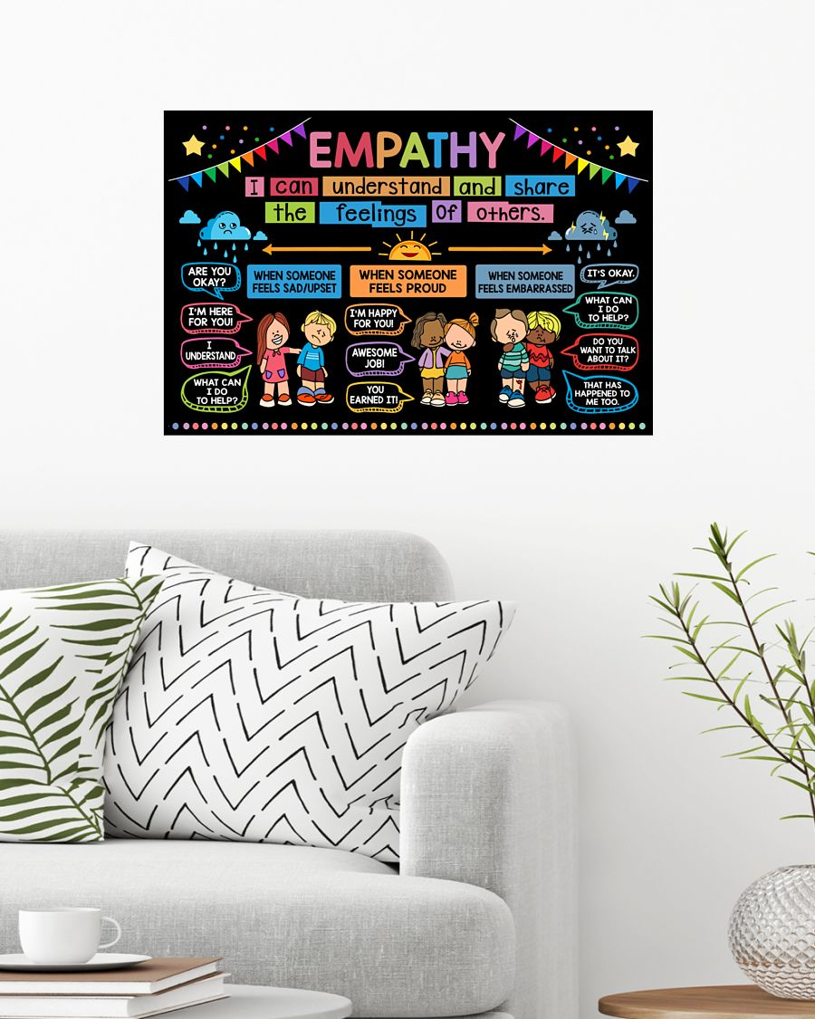 back to school empathy classroom poster 3