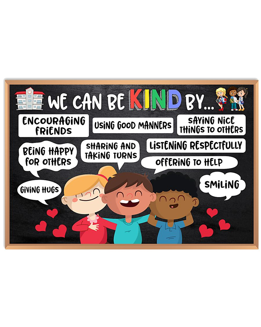 back to school we can be kind by poster 1